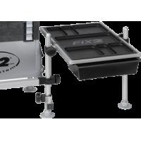 FCSA50 Tafel 540x350 mm met 2 uitschuifbare bakjes (MSS)