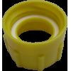 Adaptateur jaune DIN 61 avec joint